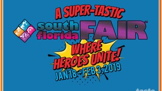 Superheroes to take over the South Florida Fair