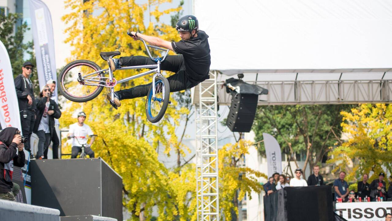 Virginia Beach native Justin Dowell wins BMX Freestyle World Championship