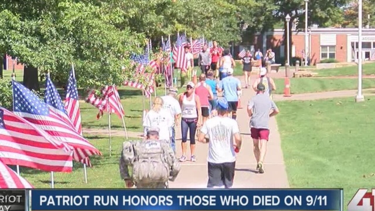 Patriot Run honors Sept. 11 victims