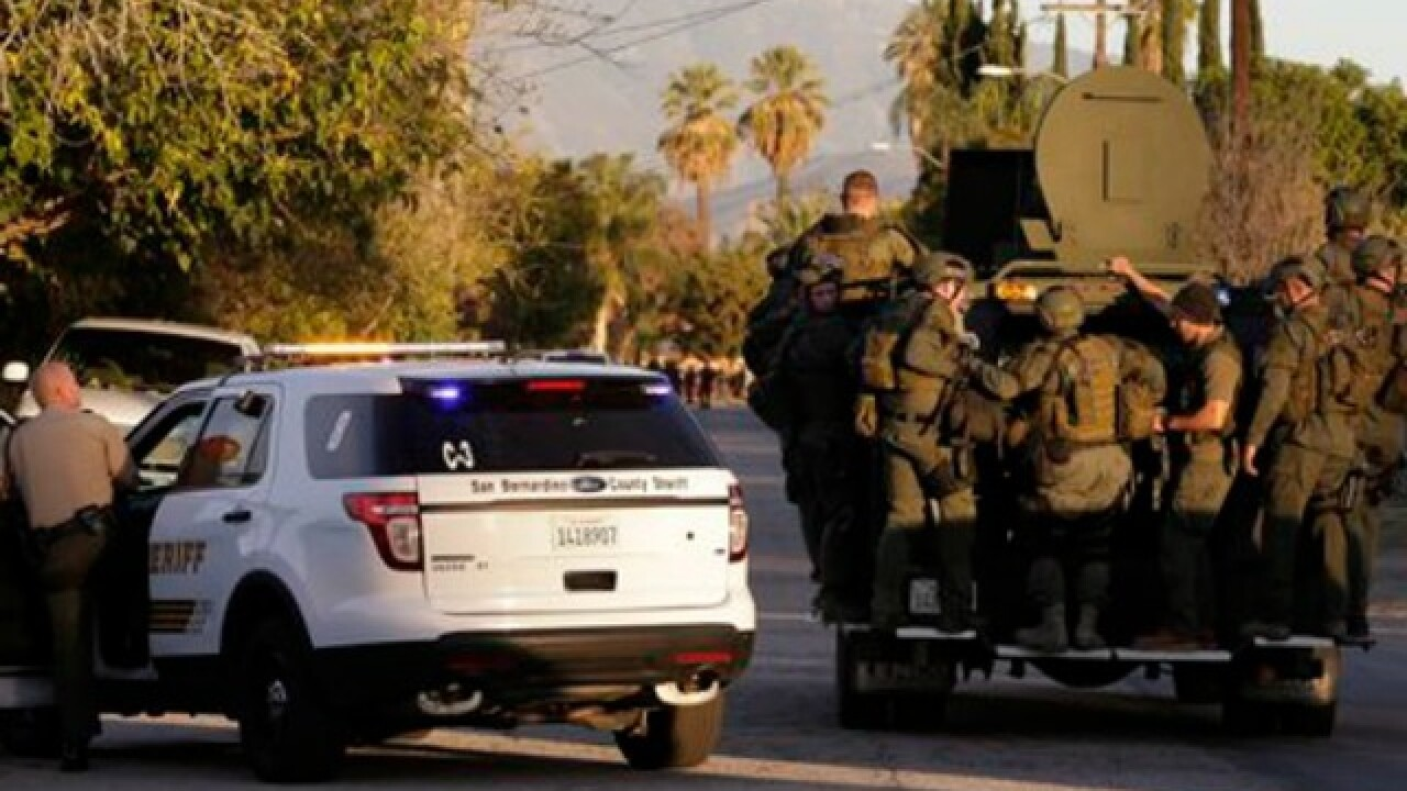 14 killed in mass shooting; 2 suspects dead