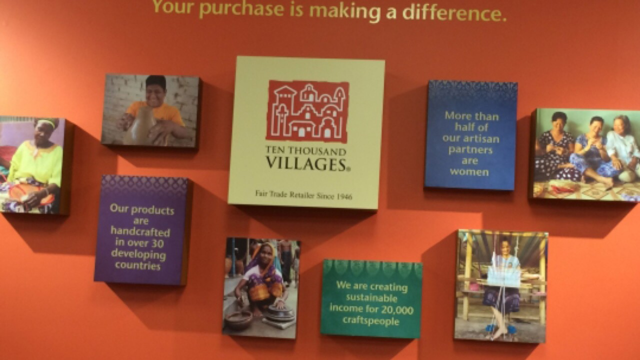 It takes Ten Thousand Villages to raise hope