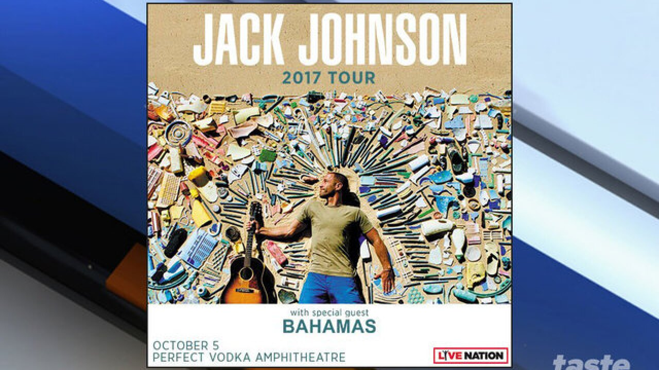 Jack Johnson adds four Florida stops to his tour
