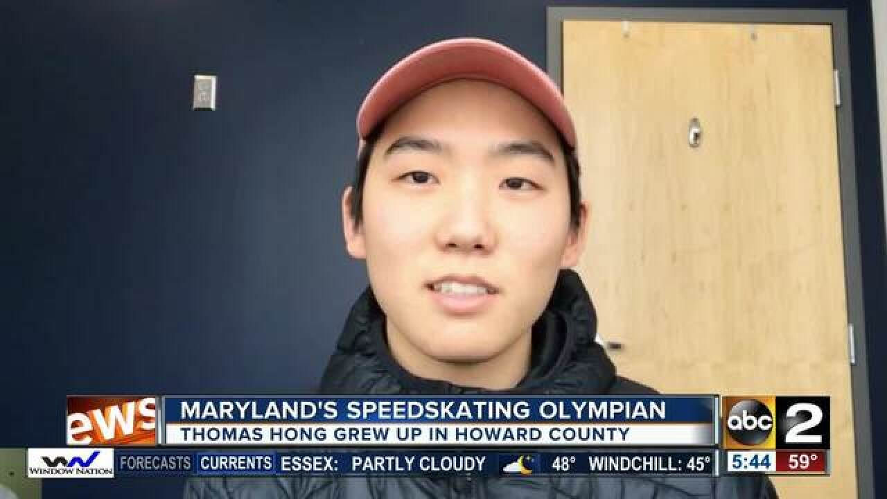 Thomas Hong: Maryland's speedskating Olympian
