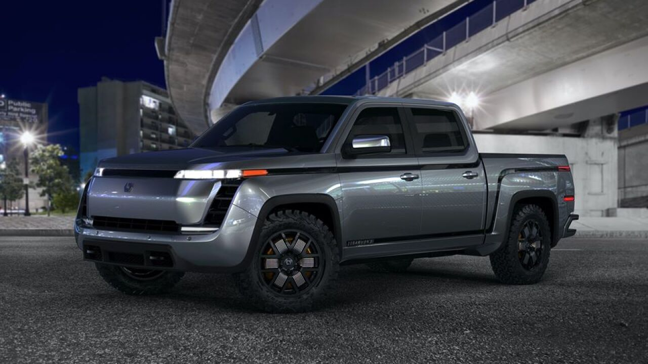 Endurance Electric Pickup Trucks from Lordstown Motor Corp.