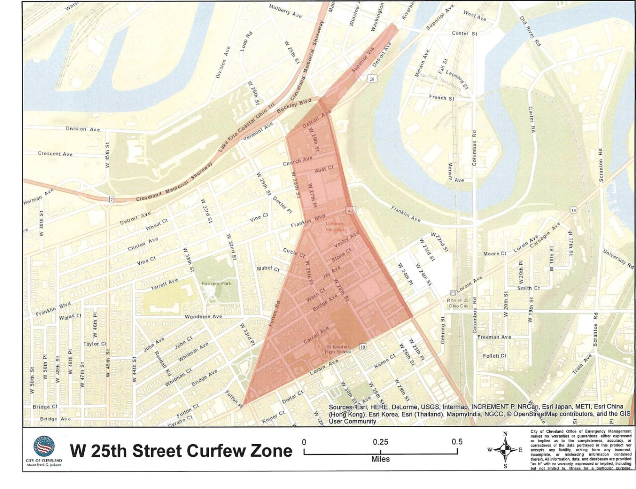 West 25th Street curfew zone.jpg