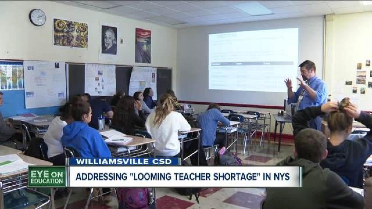 State teachers union addressing teacher shortage