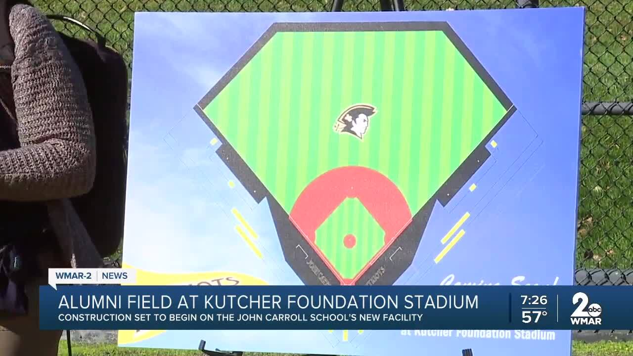 Groundbreaking ceremony held for Alumni Field at Kutcher Foundation Stadium