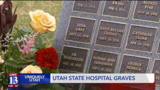 New monument honors 485 former patients at Utah State Hospital previously buried in unmarked graves