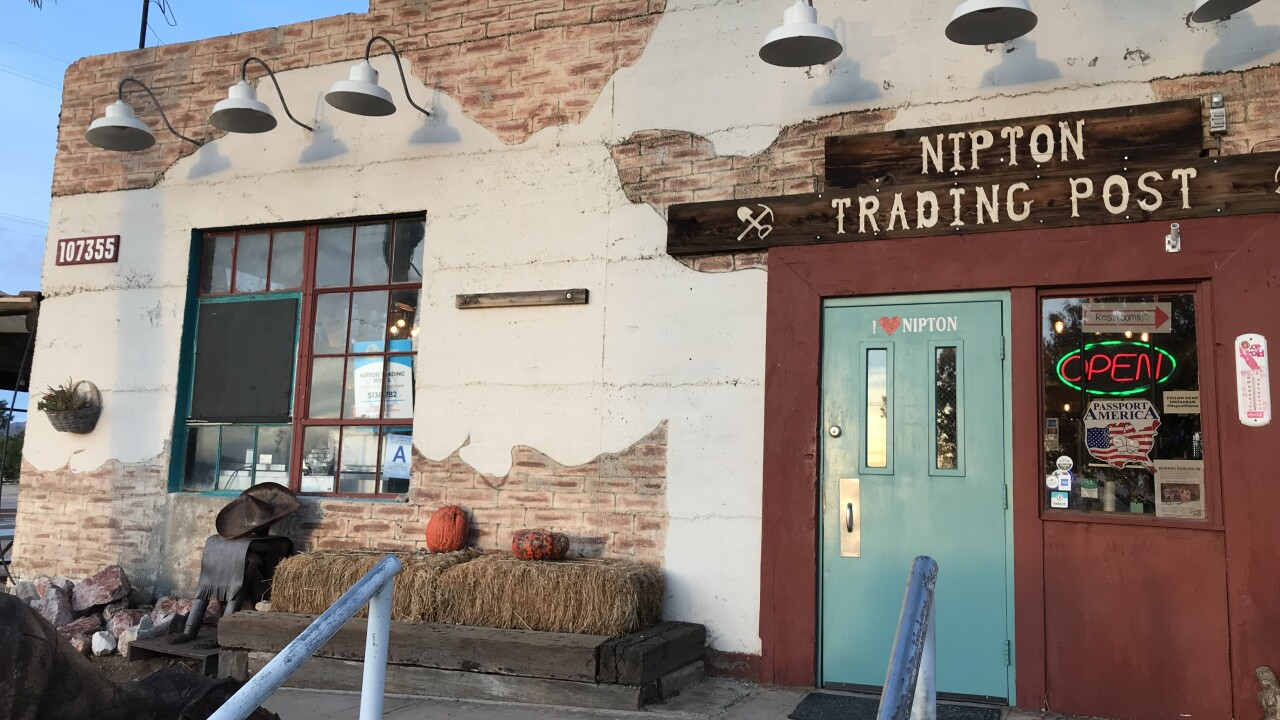 The tiny town of Nipton, Ca. led by a self-proclaimed hippie is betting on weed and tourism for the future
