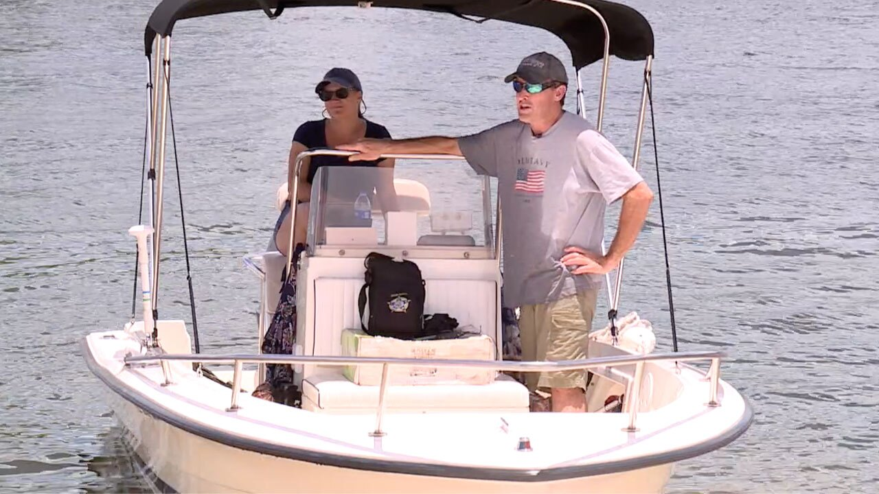 Boater on July 2, 2021