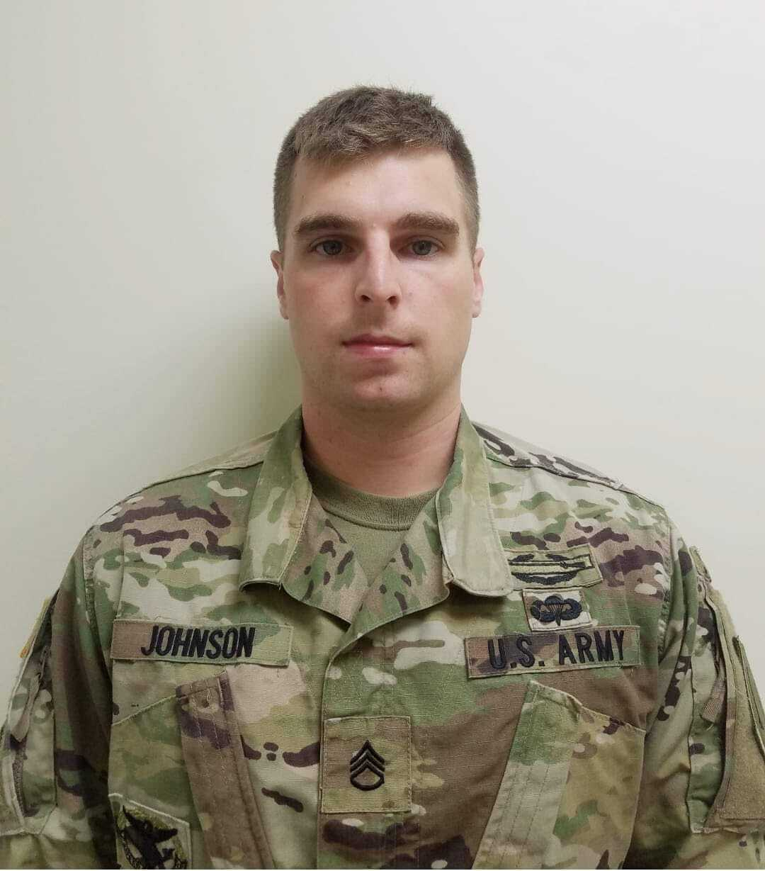 SSG Michael Johnson of Holt