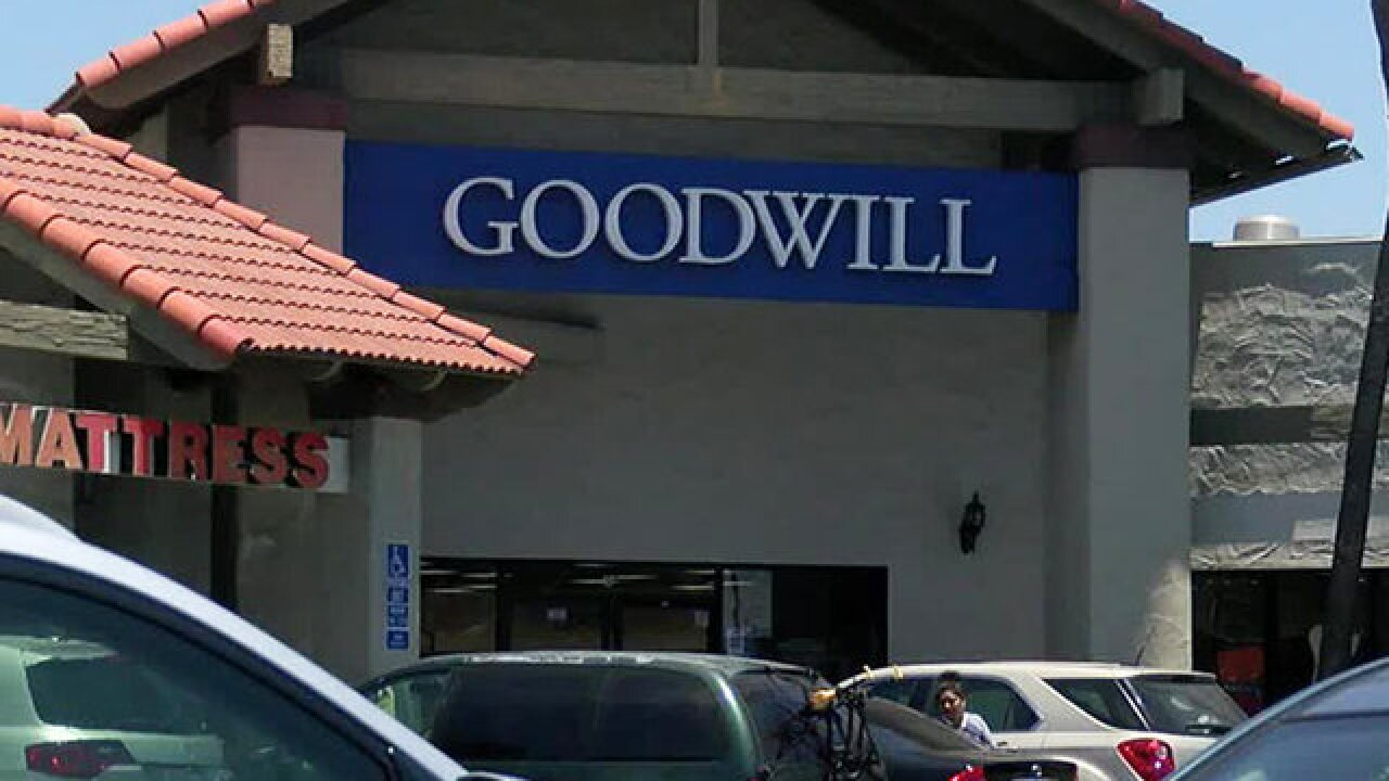 5 hurt as SUVs plow into Southern California Goodwill store