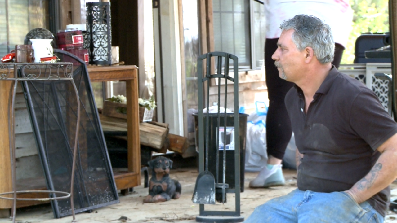 Lebanon resident still recovering from tornado loses everything again to flooding