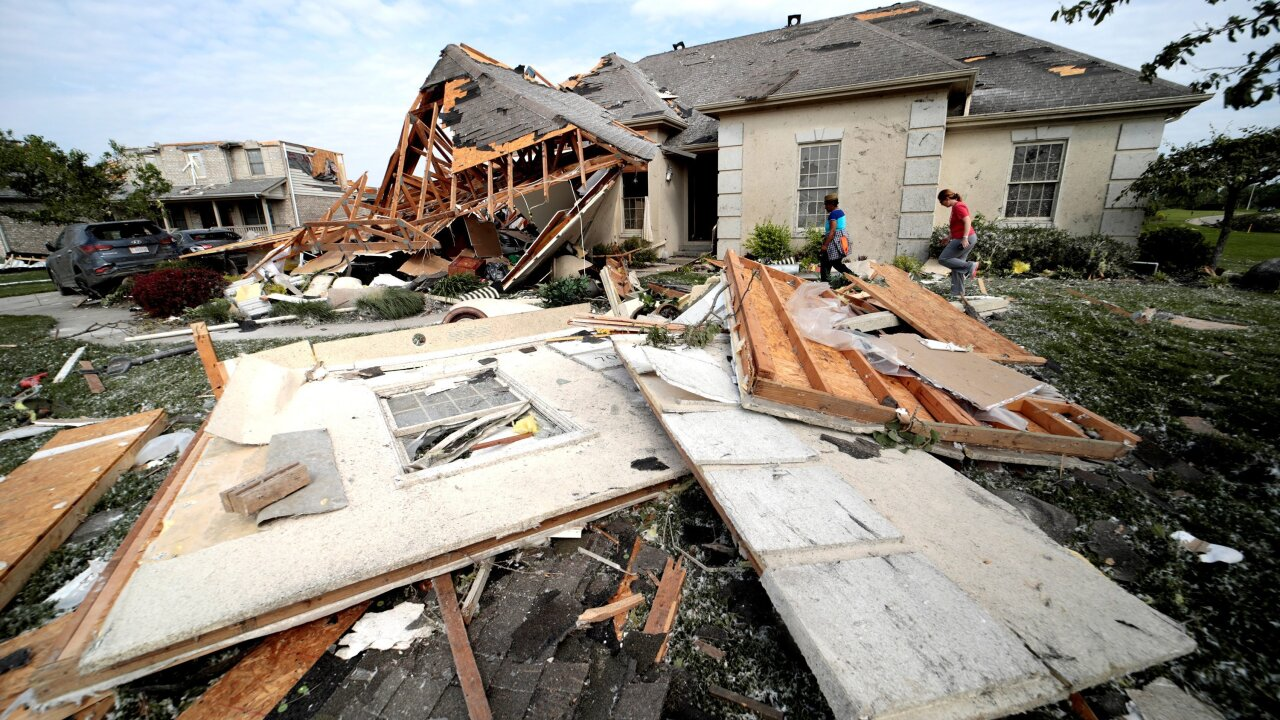 Photos: A look at the devastating impact of recent tornadoes in the U.S.