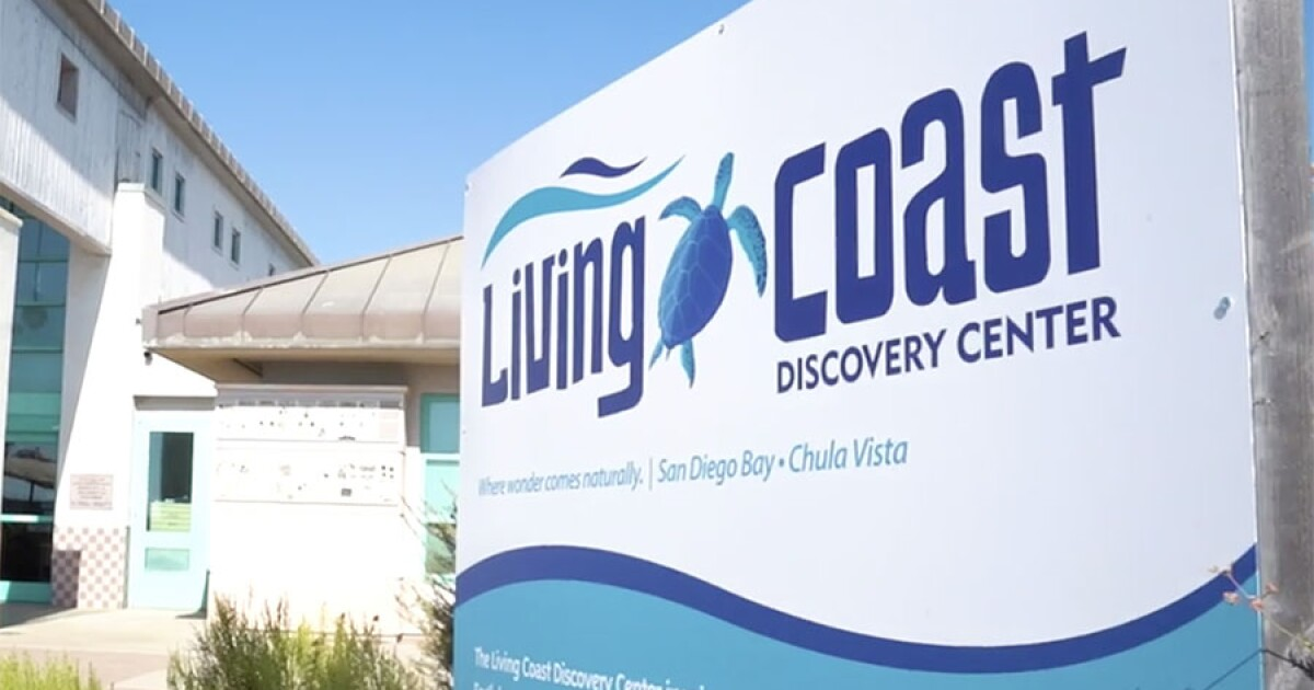 Living Coast Discovery Center in Chula Vista to reopen after 13-month closure