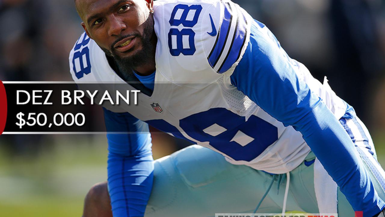 Dallas Cowboys Release Wide Receiver Dez Bryant