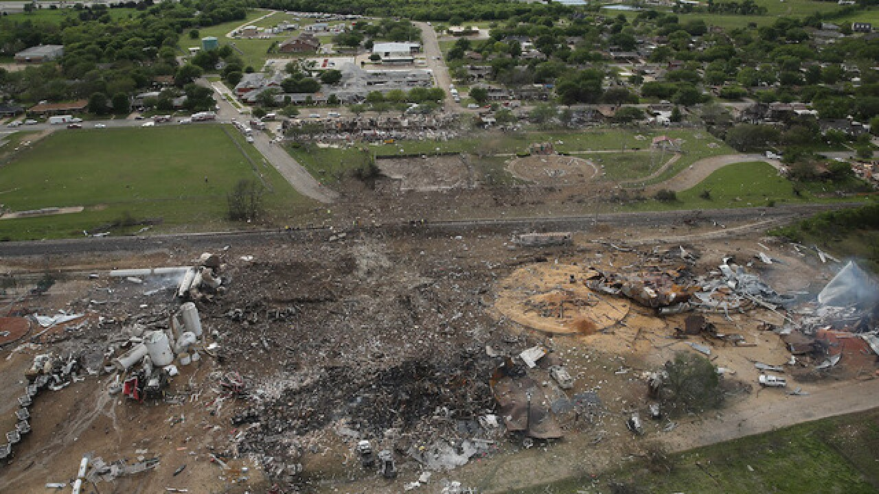 Feds: 2013 Texas explosion was criminal act