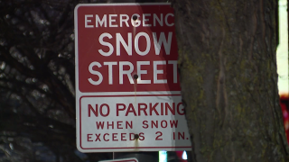 Emergency snow ban