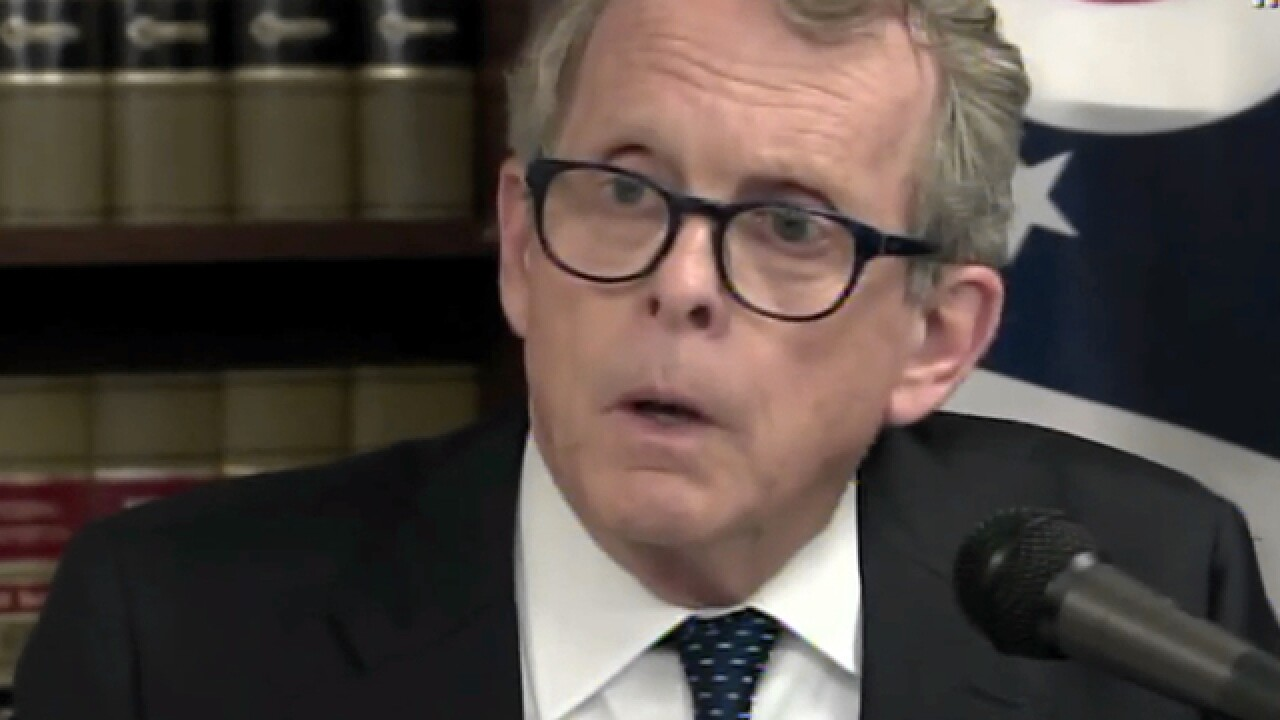 WATCH: Mike DeWine to announce major litigation