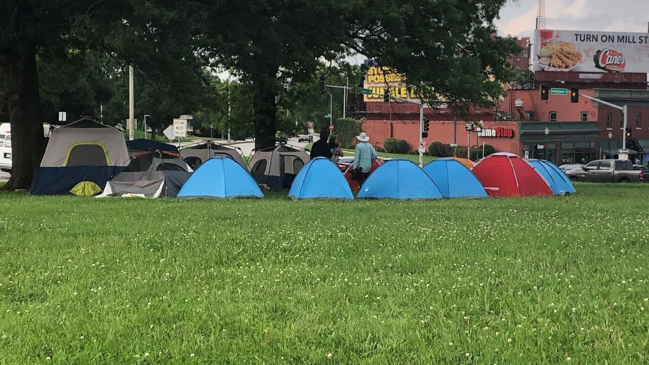 Westport homelessness camp