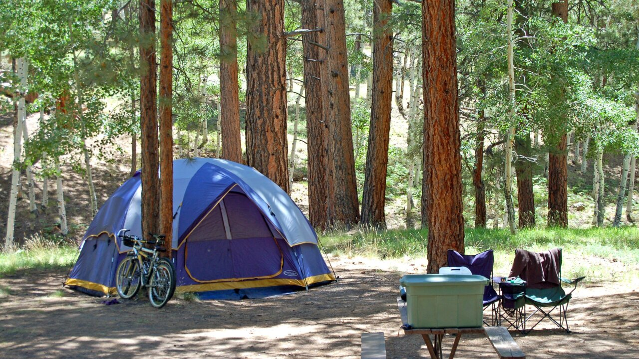 For purists, camping involves tent and no cell service