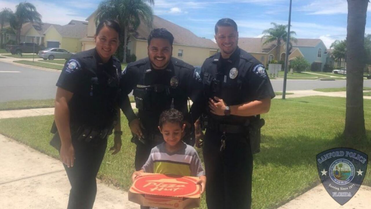 Florida boy calls 911 to order pizza, gets lesson and a pie