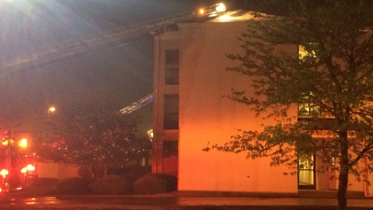Florence Marriott fire sends guests scrambling
