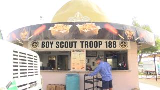 Boy Scouts of America Potato Booth
