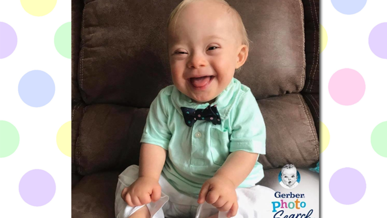 Gerber Baby 2018: Lucas Warren is company's first spokesbaby with Down syndrome