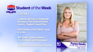 Student of the Week: Peyton Hawks