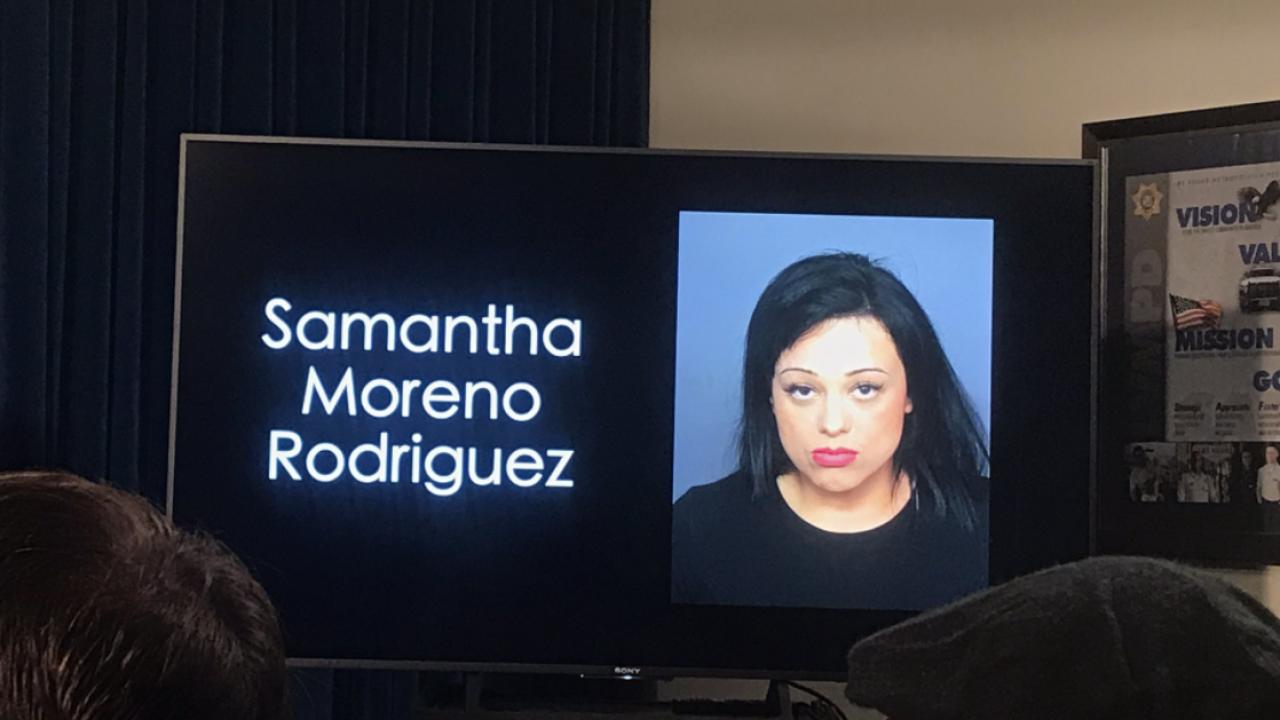 SAMANTHA RODRIGUEZ NEW MUGSHOT