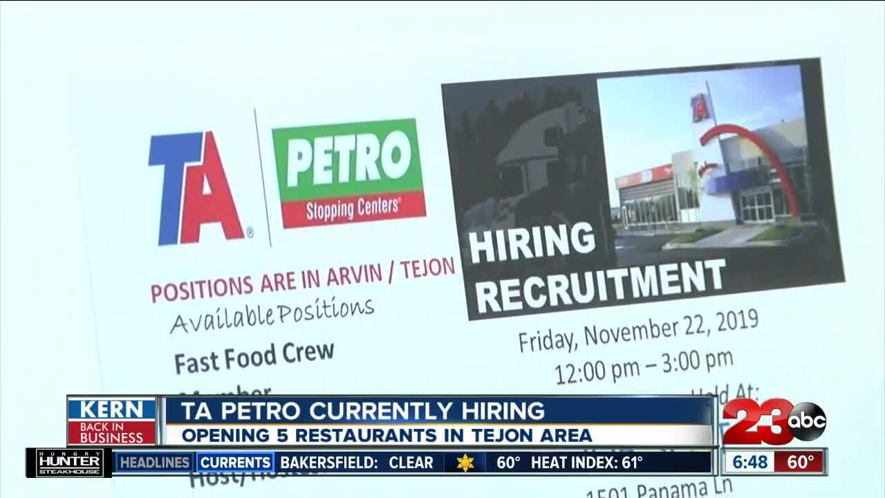 TA Petro Currently Hiring