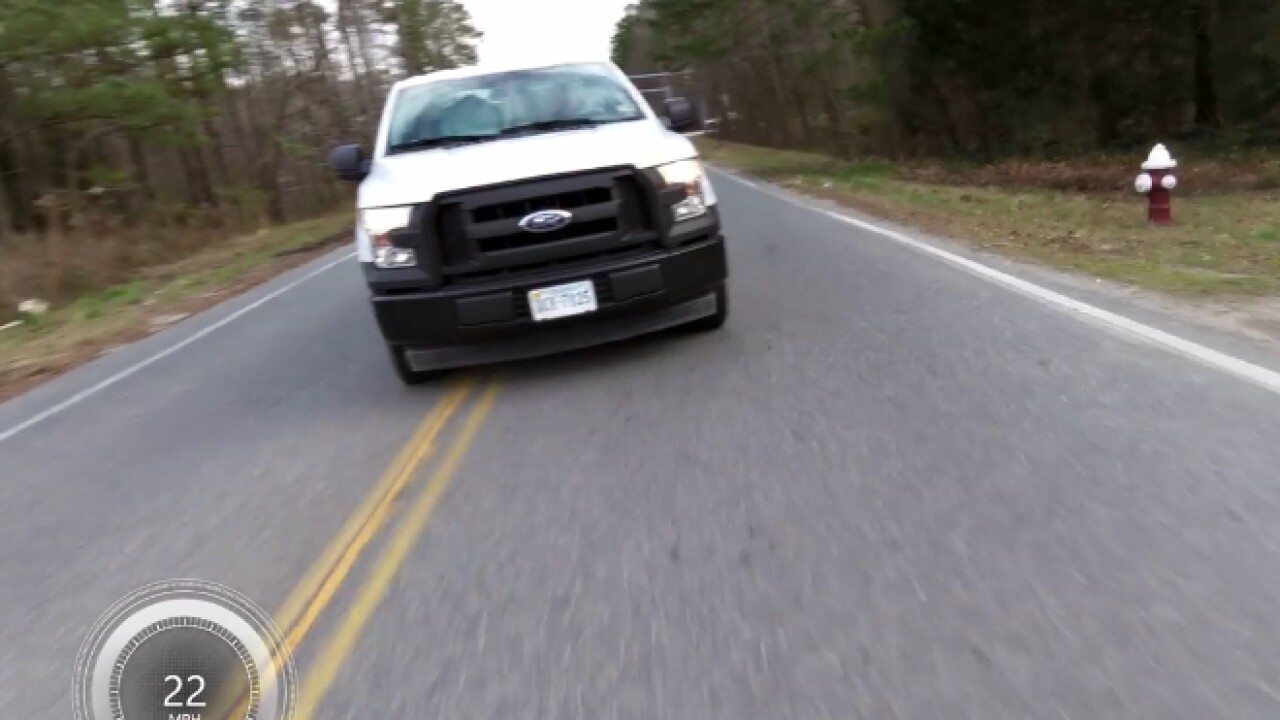 Yorktown cyclist captures close encounter with aggressive driver oncamera