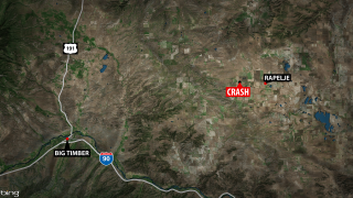 One man killed in rollover crash near Rapelje