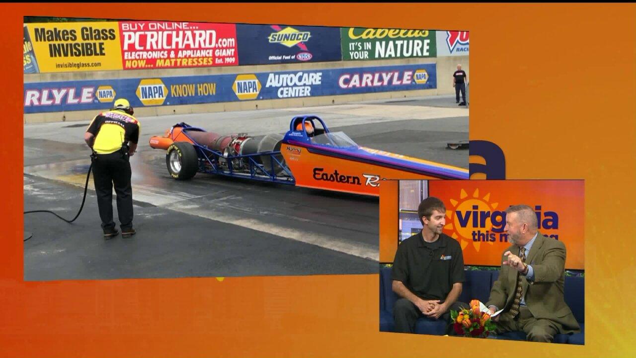 Drag racing, car show, and more at Virginia MotorsportsPark
