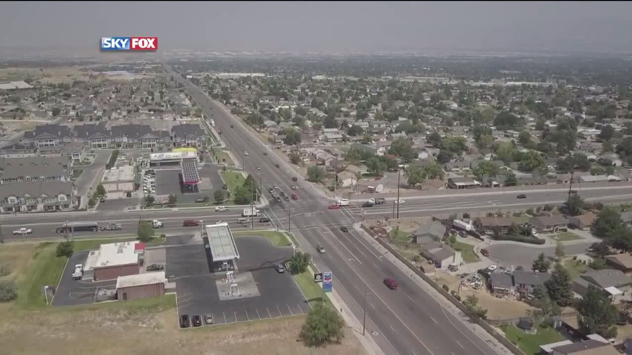 West Valley City, as seen from SkyFOX