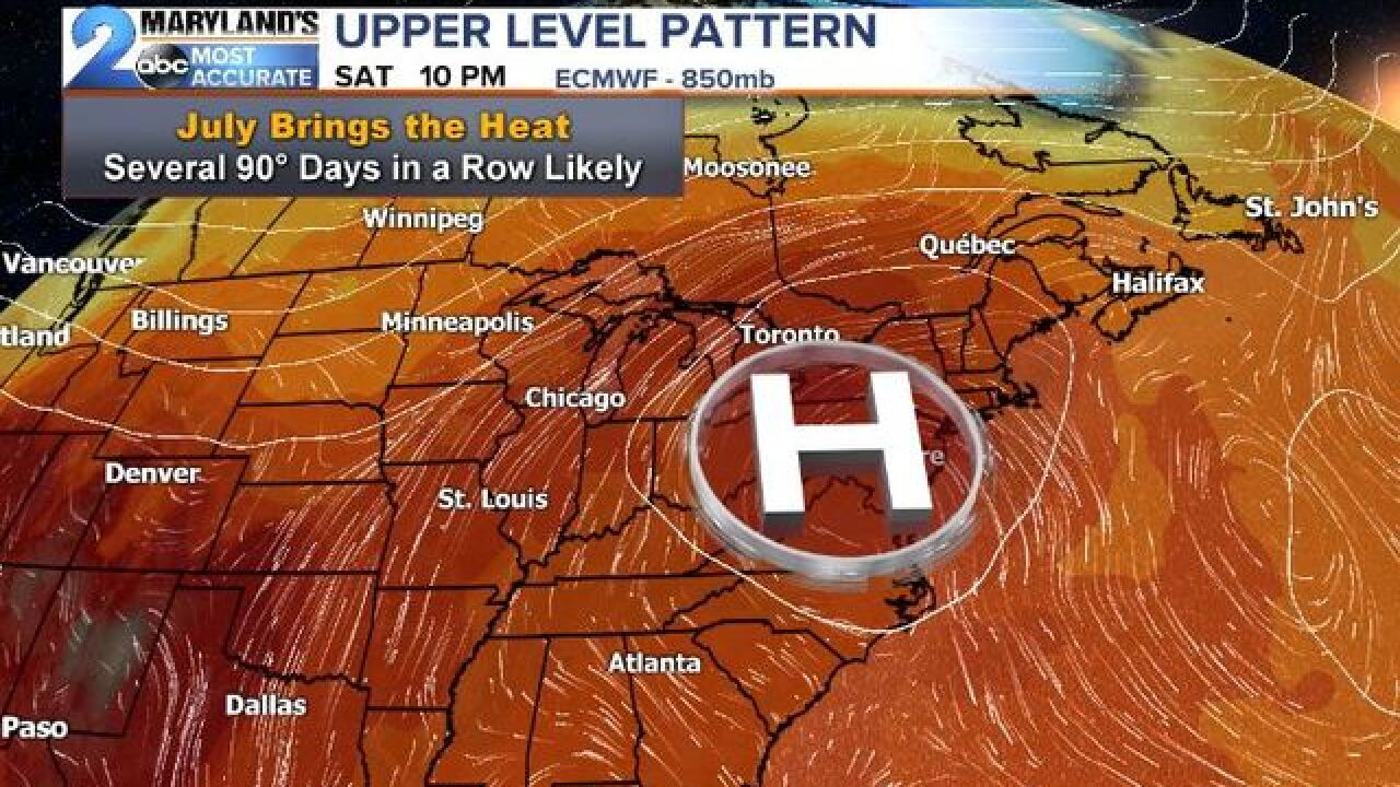 THE HEAT DOME: Stormy To Scorching