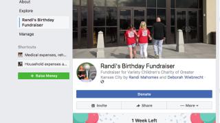 Randi Mahomes Variety KC fundraiser