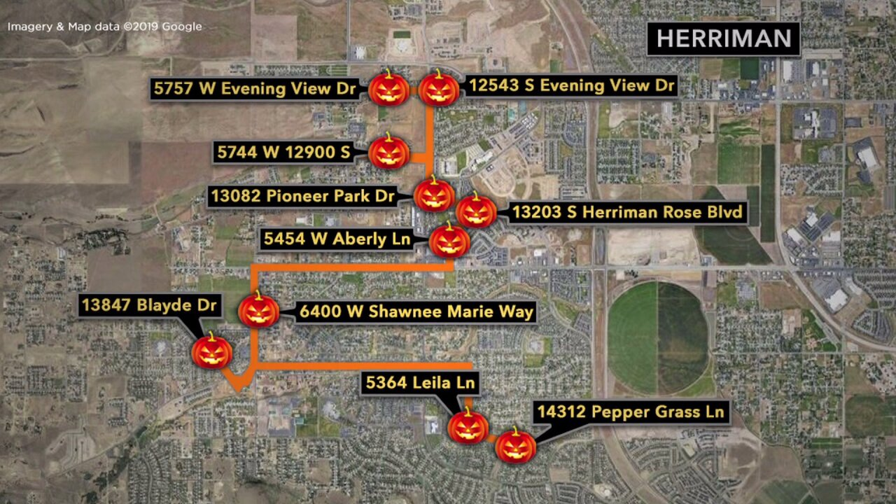 Where to find the 'spookiest' homes in Herriman