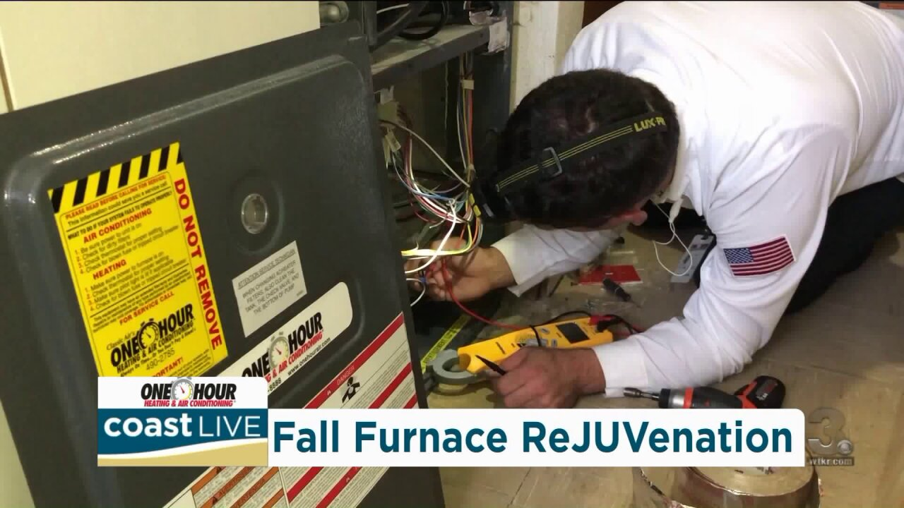Preparing for cooler weather starts with a checkup for your heating system on CoastLive