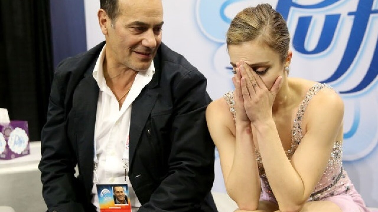 U.S. figure skater 'furious' after judges' scores nix her Olympic dreams
