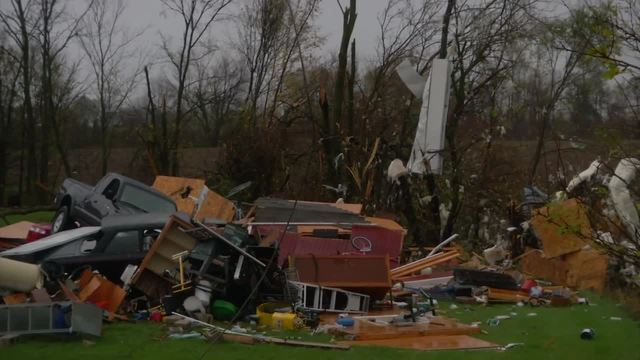 PHOTOS: Storm damage across central Indiana from November 5