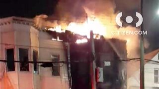 Fire tears through Brooklyn house in East New York