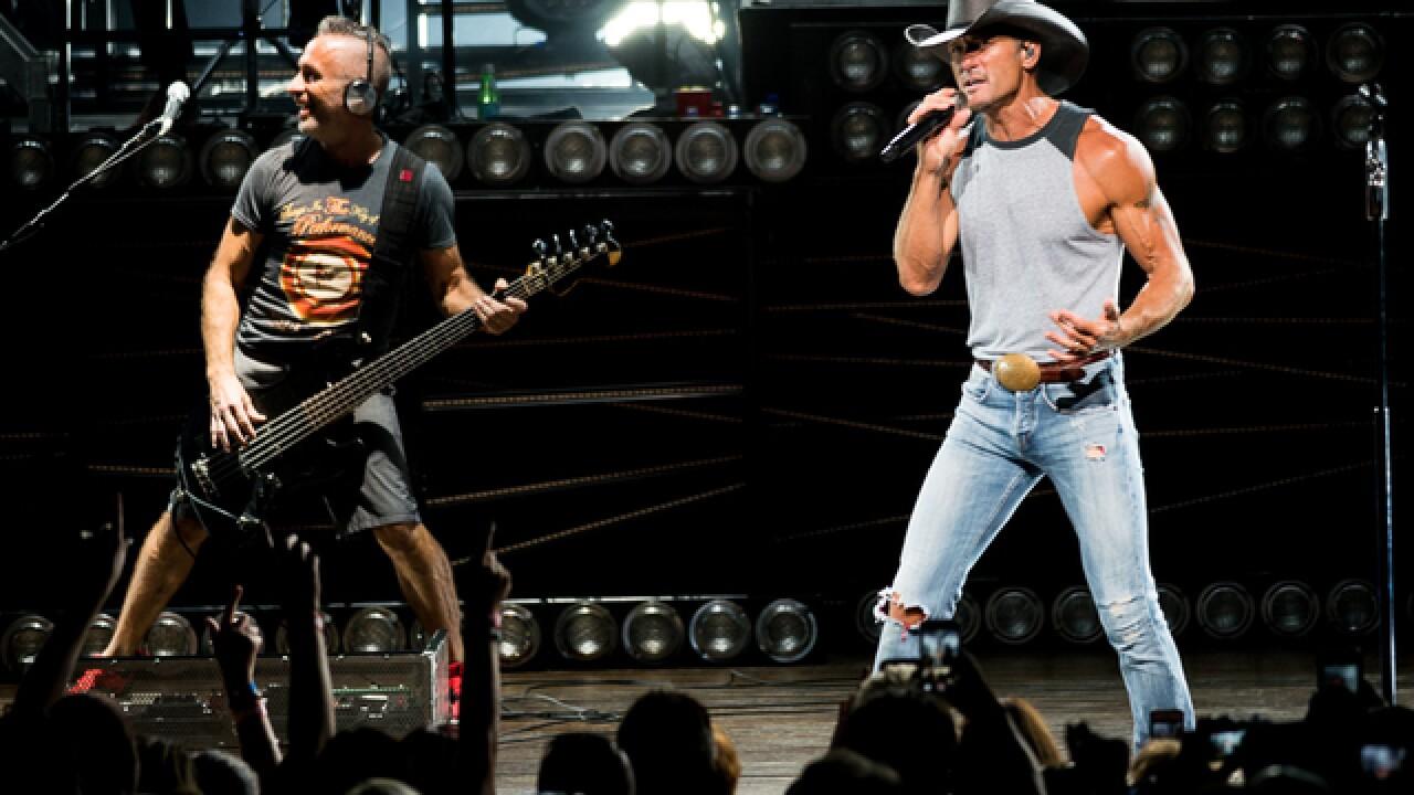 'Shotgun Rider': Tim McGraw returns to Riverbend