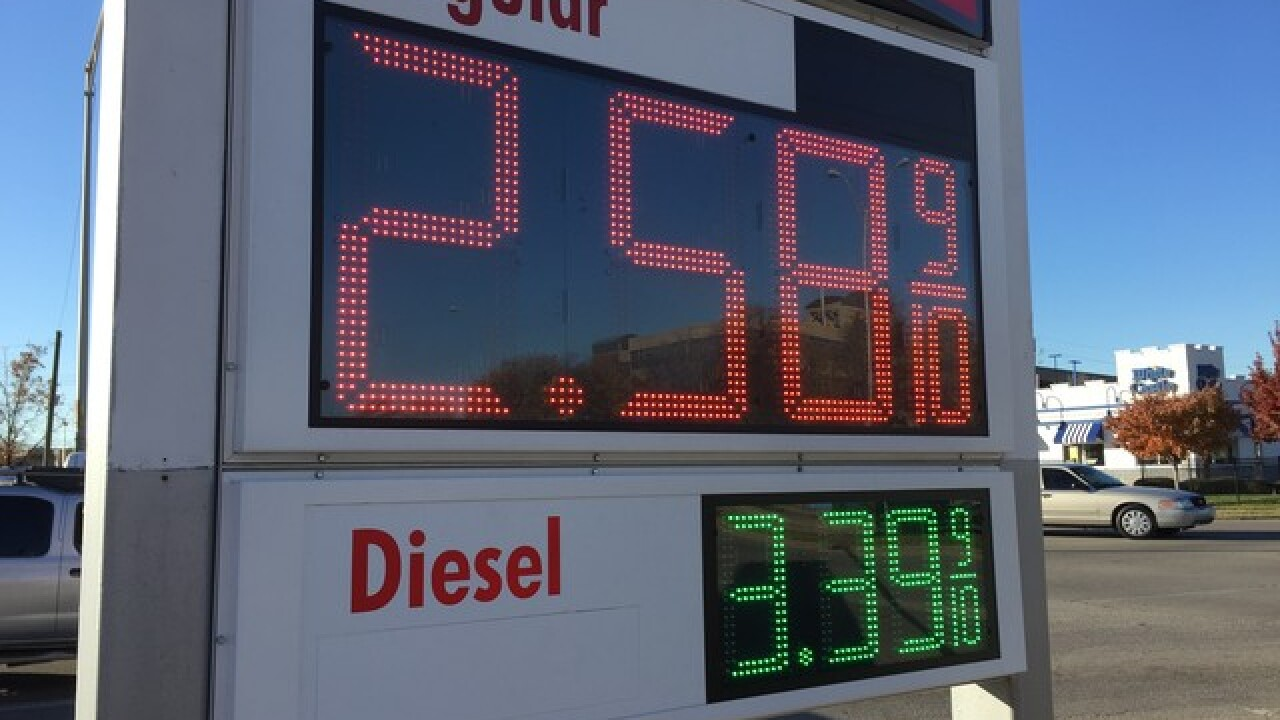 Indiana gas prices lowest since April