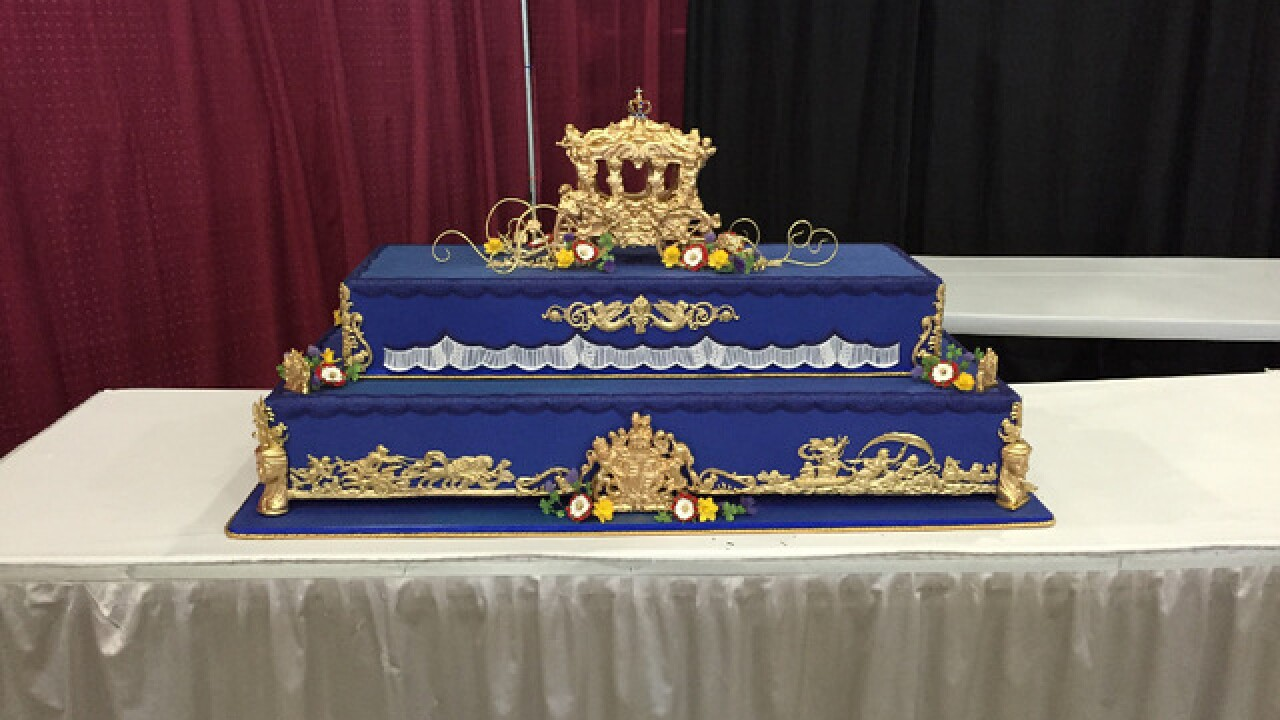 Cakes at the Tulsa State Fair