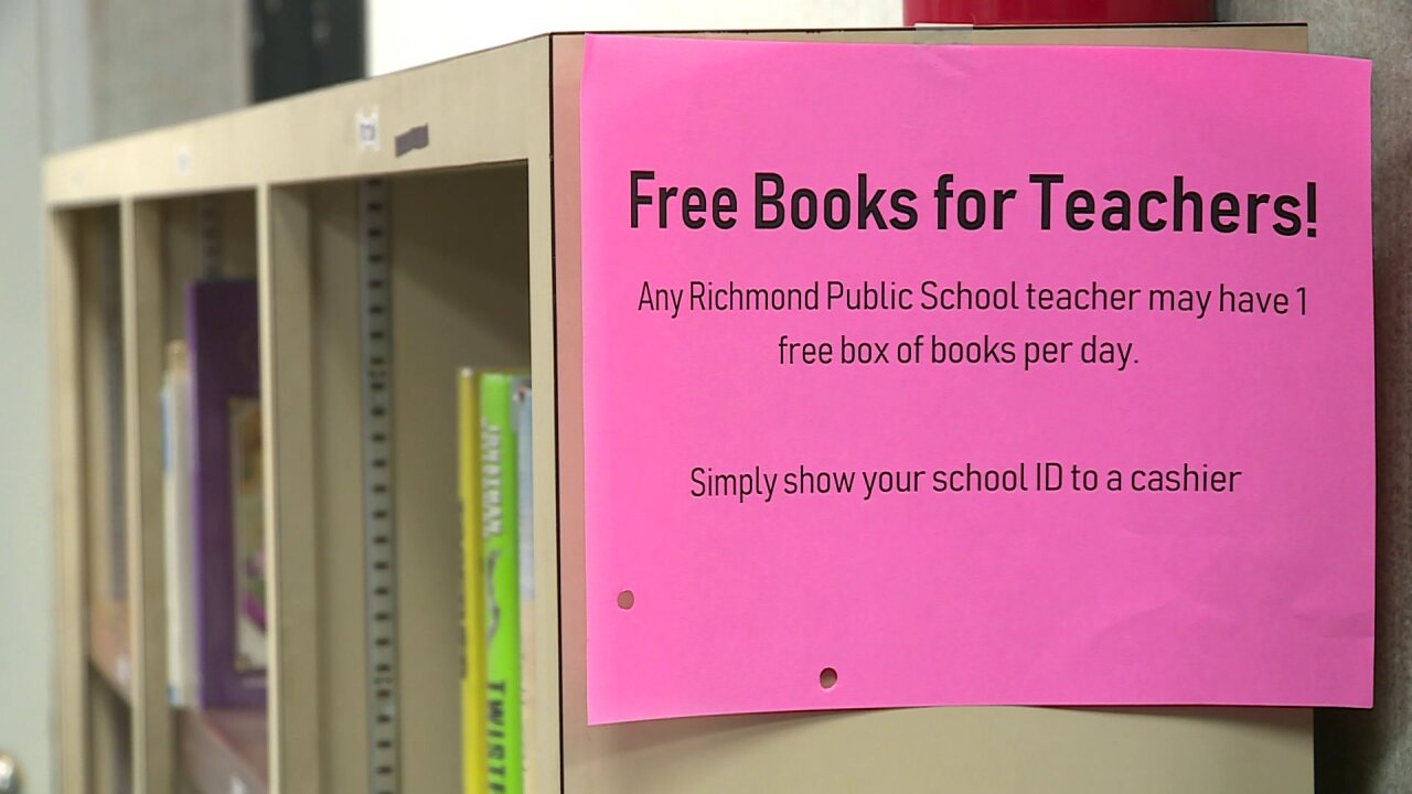 Where Richmond teachers can pick up free books: 'We saw a need'