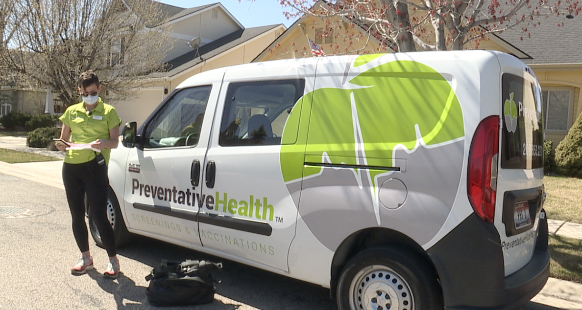 Preventative Health mobile vaccine unit