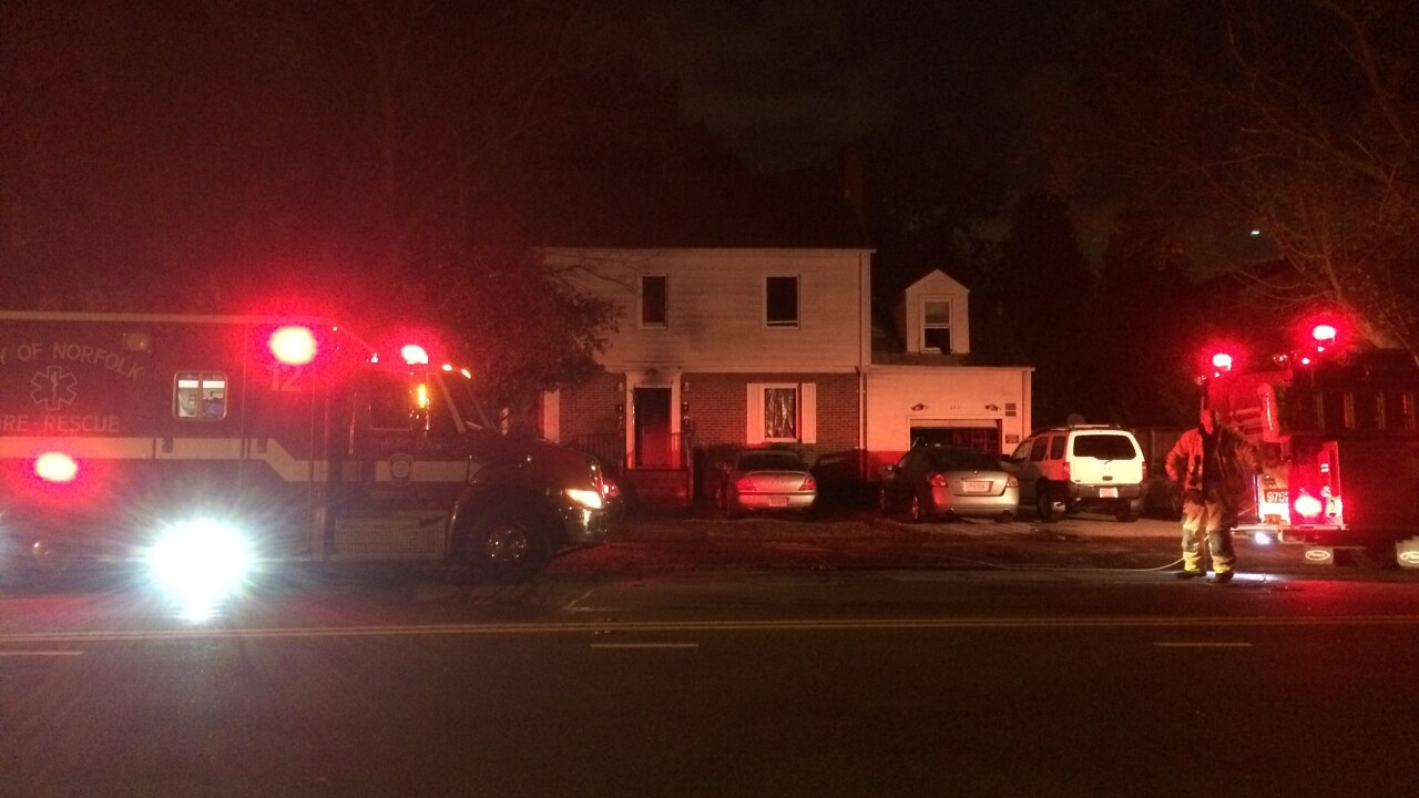Residents treated for smoke inhalation, firefighter injured in early morning housefire