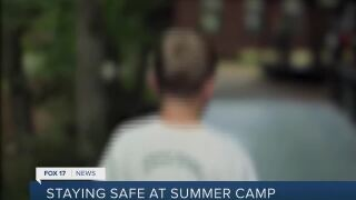 Camps trying  their best to keep kids safe
